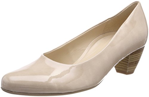 Gabor Shoes Damen Comfort Basic Pumps, Beige (Sand), 39 EU