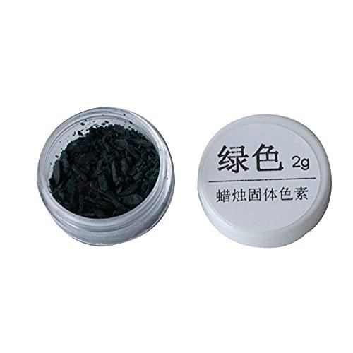 Qingxin 10 colores DIY vela cera colorante pigmento soja vela cera pigmento tinte para hacer vela perfumada