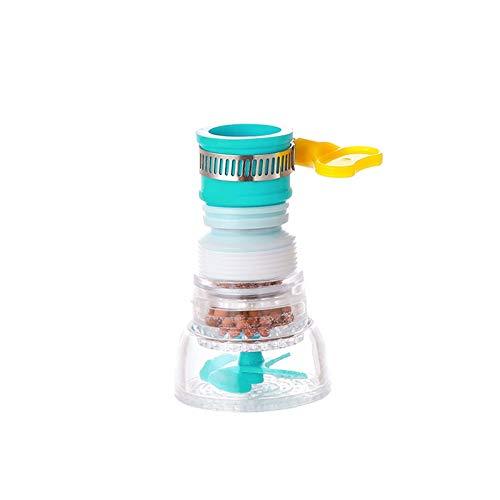 Reemplazar el filtro Universal Kitchen Faucet Water Tap Cabezales 360 grados Rotación de agua Purificador Filtro Filtro Pulverizador activado Filtración de carbono Cocina y Accesorios de baño Cocina y