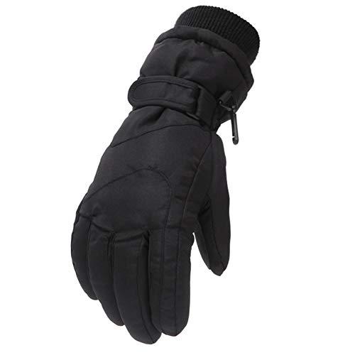 dkjawjcn Kinder Skihandschuhe wasserdichte und Winddichte Schneehandschuhe Warme Handschuhe Winterhandschuhe für 6-11 Jahre Jungen Mädchen Skifahren Wandern Radfahren