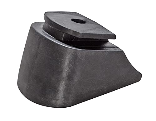 Inliner-Bremse Bremsstopper Gummi-Bremsklotz aus PU für Inlineskates Raven Profession (Black)