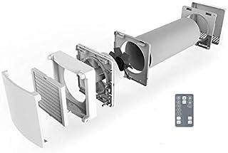 SUEDWIND: Ambientika WIRELESS- Sistemas de ventilación con recuperación de calor de una sola habitación (93%), 160 mm, 60m³/h