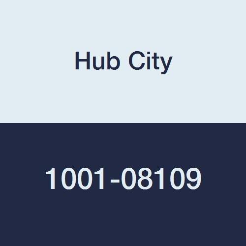 "Hub City IndustriaLine 1001-08109 TPB220WX1-3/8 Pillow Block Bearing, 1.38"" ID, 2"" Height, 5"" Length, 5"" Width, Metal"