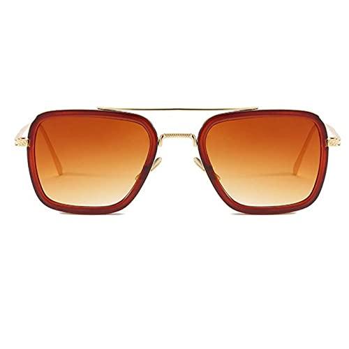 NJJX Película Con Las Mismas Gafas De Sol Moda Europea Y Americana Caja Con Las Mismas Gafas De Sol Gafas De Tendencia Masculina 5