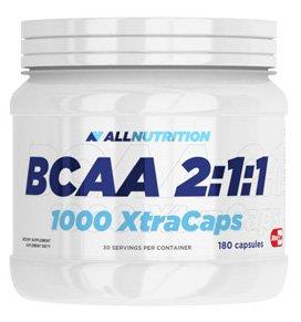 All Nutrition BCAA 2:1:1 1000 Xtracaps 180 Capsules