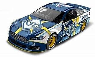 Lionel Racing Tampa Bay Rays Major League Baseball Hardtop Diecast Car, 1:64 Scale