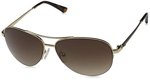 Guess GU 7468 Gafas de sol, Dorado (Gold/Gradient Brown), 59 para Mujer