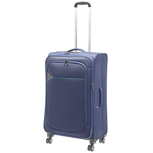 Hardware Skyline 3000 4-Rollen-Trolley L 79 cm erweiterbar Blue/Light Blue