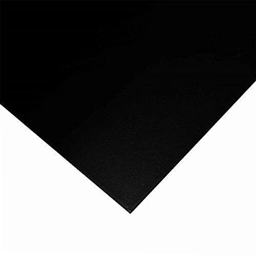 Online Metal Supply Gloss Black Painted Aluminum Sheet .040
