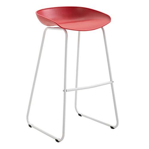CCLC barstoelen van smeedijzer, minimalistisch, hoge stoel, modern, koffie, Nordic 70 cm, hoge ontvangst, barkruk