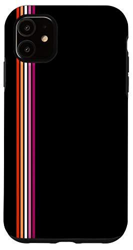 iPhone 11 Lesbian Flag Pride Phone Case