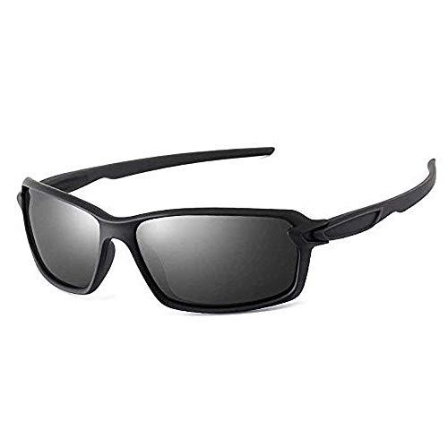 Nobrand Gafas de sol polarizadoras para hombres y mujeres Gafas de sol deportivas Serie de gafas deslumbrantes con pintura elástica