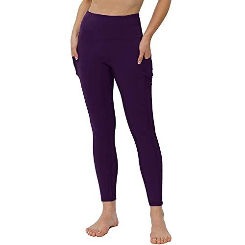 Mymyguoe Leggings Mujer Fitness Cintura Alta Pantalones Fitness Push Up para Deporte Deportivos Mallas para Running Training Estiramiento Yoga y Pilates Mallas Pantalones Deportivos Leggings