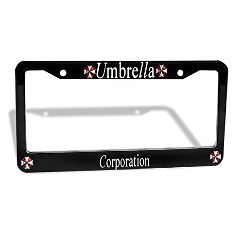 WINTERSUNNY License Plate Cover Funny License Plate 12' X 6' Umbrella Corporation