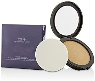 Tarte Smooth Operator Amazonian Clay Tinted Pressed Finishing Powder Tan, 0.39 Ounce