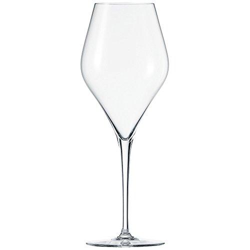 Schott Zwiesel 118608 Finesse 6-teiliges bordeaux Rotweinglas Set, Kristall, farblos, 9.8 x 9.8 x 26.1 cm