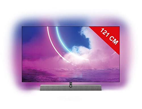 Philips 48OLED935/12 Televisor 121,9 cm (48') 4K Ultra HD Smart TV Wifi Bronce, Gris