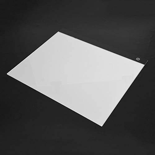 Tablero de copia de dibujo, almohadilla de luz de seguimiento de tamaño A3, para bocetos de copia de dibujo