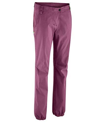 EDELRID Damen Rope Rider Pants III, Plum (324), L