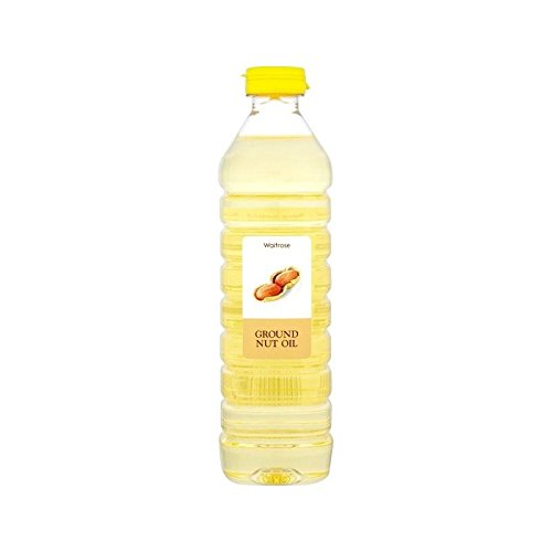 Aceite De Cacahuete Waitrose 500Ml - Paquete de 2