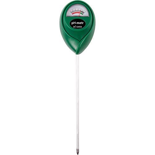 Browin 71000 pH Wert Messgerät Boden, Gerät zur Bodenanalyse, Keine Batterien erforderlich, Schnelle Messung, Universal, Säuremesser, Green, 4 x 6 x 26,5 cm, 4,5 x 10,7 x 33,5 cm
