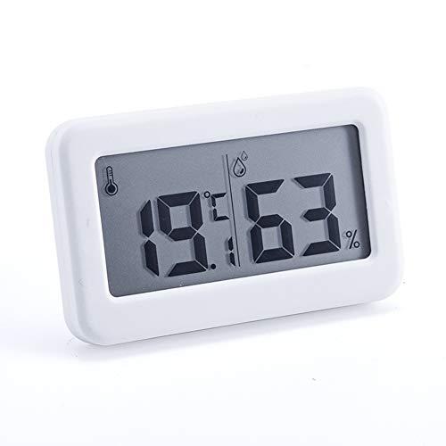 JELY Digital Hygrometer, Wireless Indoor mit Jumbo-Schirm genauen Temperatur- und Feuchtigkeitsüberwachung intelligent und einfühlsam für Zimmer Arbeitszimmer Gewächshaus Keller