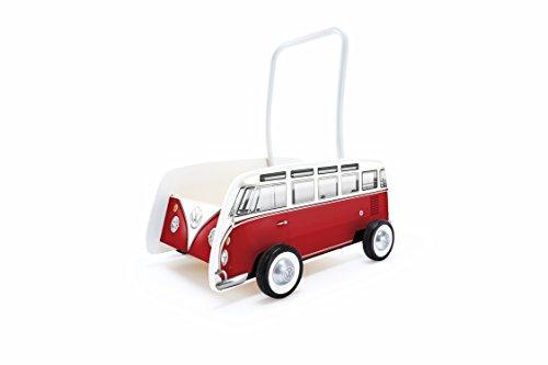 Hape E0379 Bulli Lauflernwagen rot 47 x 37 x 48 cm