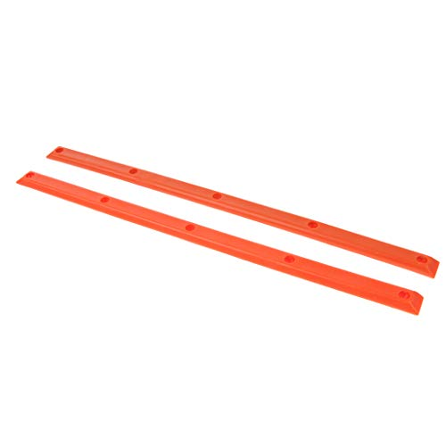 perfk Skateboard Schienen Set - Orange