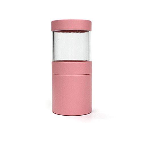 LPOQW Organizador de brochas de maquillaje, organizador de cosméticos, caja de Storgae de maquillaje, organizador de brochas para mujeres y niñas, color rosa