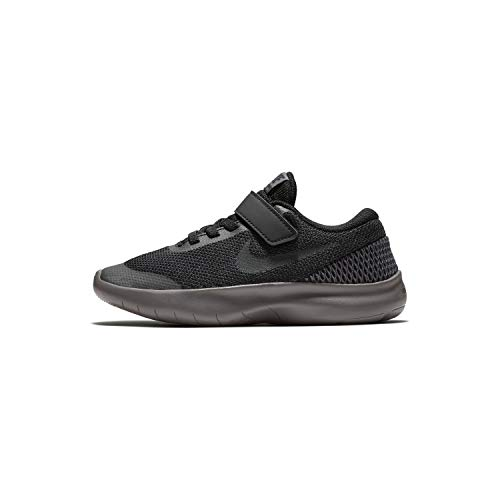 Nike Boys PS Flex Experience RN 7 Athletic Sneaker Shoes 1 (Numeric_1) Black