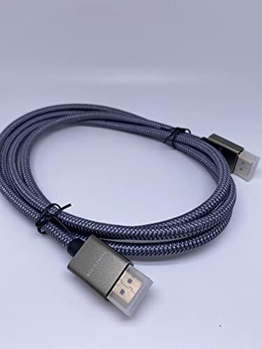 Lebbio - Cable HDMI 2.0 de nailon - Longitud 1.5m - HDMI...
