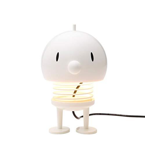 Hoptimist - Lampe, Nachttischlampe, Tischlampe - Weiß - Maße (HxØ): 13,5 x 10 cm