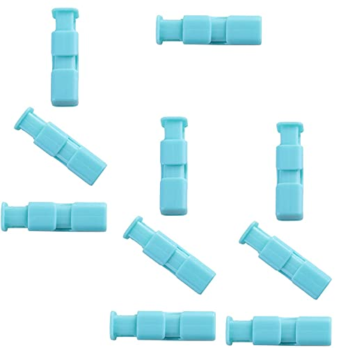 LXYY 10PCS Clips For Bread Bags Good Grips Bag Pressing and Sealing Clip For Milk Powder Bag Snack Bag Holder Moisture-Proof Fresh-Keeping Clip Plastic Bag Spring Sealing Clip