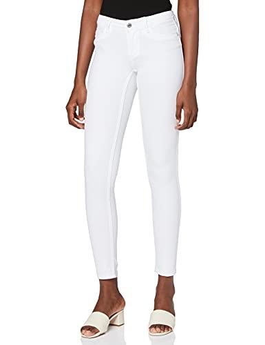 ONLY Damen Onlultimate King Reg Cry1703 Noos Skinny Jeans, Weiß, W42/L30 (Herstellergröße: X-Large)