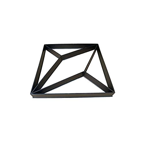 UTDKLPBXAQ Molde para Hacer senderos en Forma de rombo Molde para pavimentadora de hormigón en Forma de rombo en Forma de Diamante Molde para Piedra de Paso de Cemento de hormigón para Garden Park