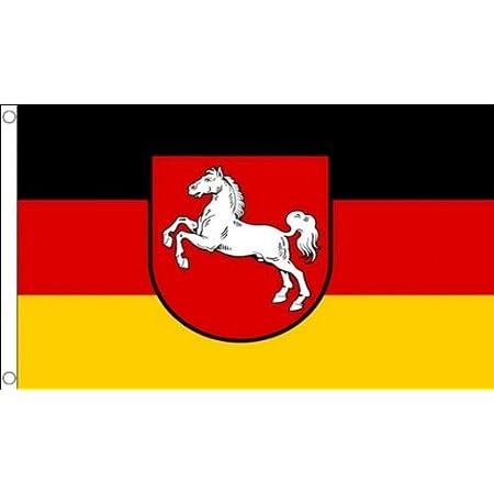 Az Flag Flagge Niedersachsen 150x90cm Niedersachsen Fahne 90 X 150 Cm Flaggen Top Qualitat Amazon De Garten