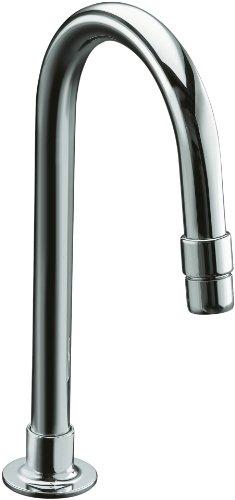 KOHLER K-7313-K-CP Triton WC-Armatur mit breiter Vertiefung, Chrom poliert (ohne Griffe)
