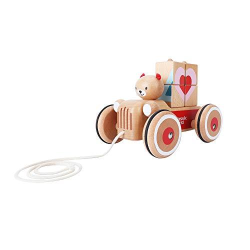 Hippychick Coco Bear Camion Gonflable à Tirer avec Blocs de tri des Formes 350 g