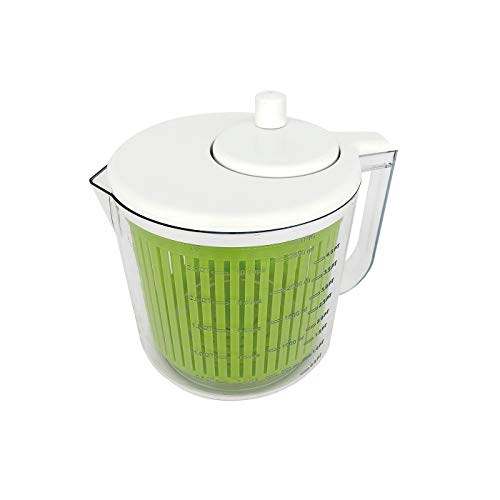 Baumalu 450303 Mini-Wühlmaschine, Edelstahl, weiß/grün, 2,5 l