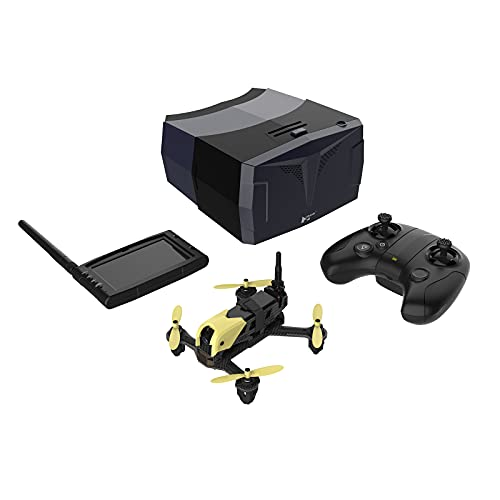 HUBSAN X4 H122D Storm Pro Version Racing FPV Drone with 360° Flips & Rolls 720P HD Camera Quadcopter with HS001 LCD Display Screen HS002 Goggles