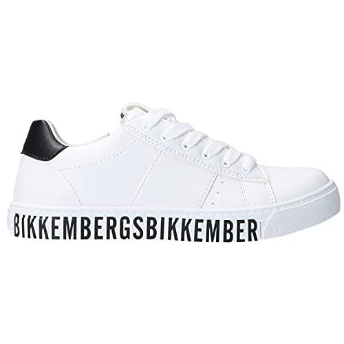 Bikkembergs - Sneaker Fondo a Cassetta - 39 - Bianco-Nero
