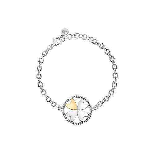 Morellato Bracciale da donna, Collezione Multigipsy, in acciaio, cristalli - SAQG36