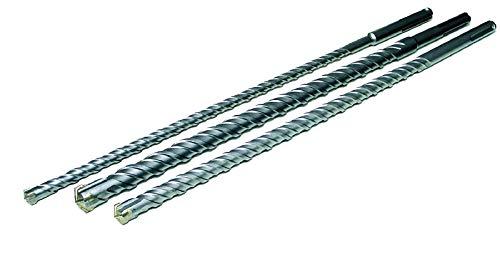 3 tlg. SDS max Bohrer Satz Ø 16/20 / 26 mm HM Hammerbohrer 600 mm lang