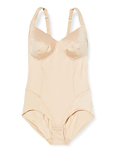 LOVABLE Shaping Senza Ferretto Body, Beige (136-Nudo), 38 (Taglia Produttore:38C) Donna