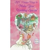 151 Unique Ways to Make Your Wedding Special 0963916106 Book Cover