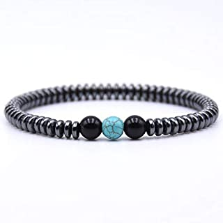 BAOKUANH Bracelet Bracelet Natural Stone Beads Beaded Bracelet Homme Men Jewelry Gift