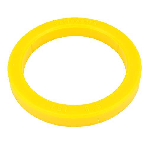 SW-K Dichtung O-Ring für Siebträger Kaffeemaschiene Typ E61 Brühgruppe Brühkopfdichtung (ø 73 x 57 x 8,5mm (Gelb))