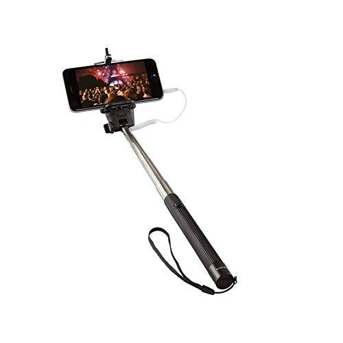LogiLink Selfie Monopod mit 3, 5mm Cinch Verbindung