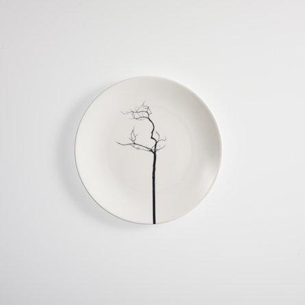 <p>Teller Fine Bone China Serie Black Forest Flach 21 cm</p>