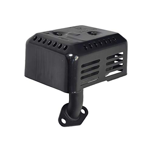 HONDA GX160 GX200 5.5 HP 6.5HP EX35 EXHAUST MUFFLER SYSTEM WITH HEAT SHIELD